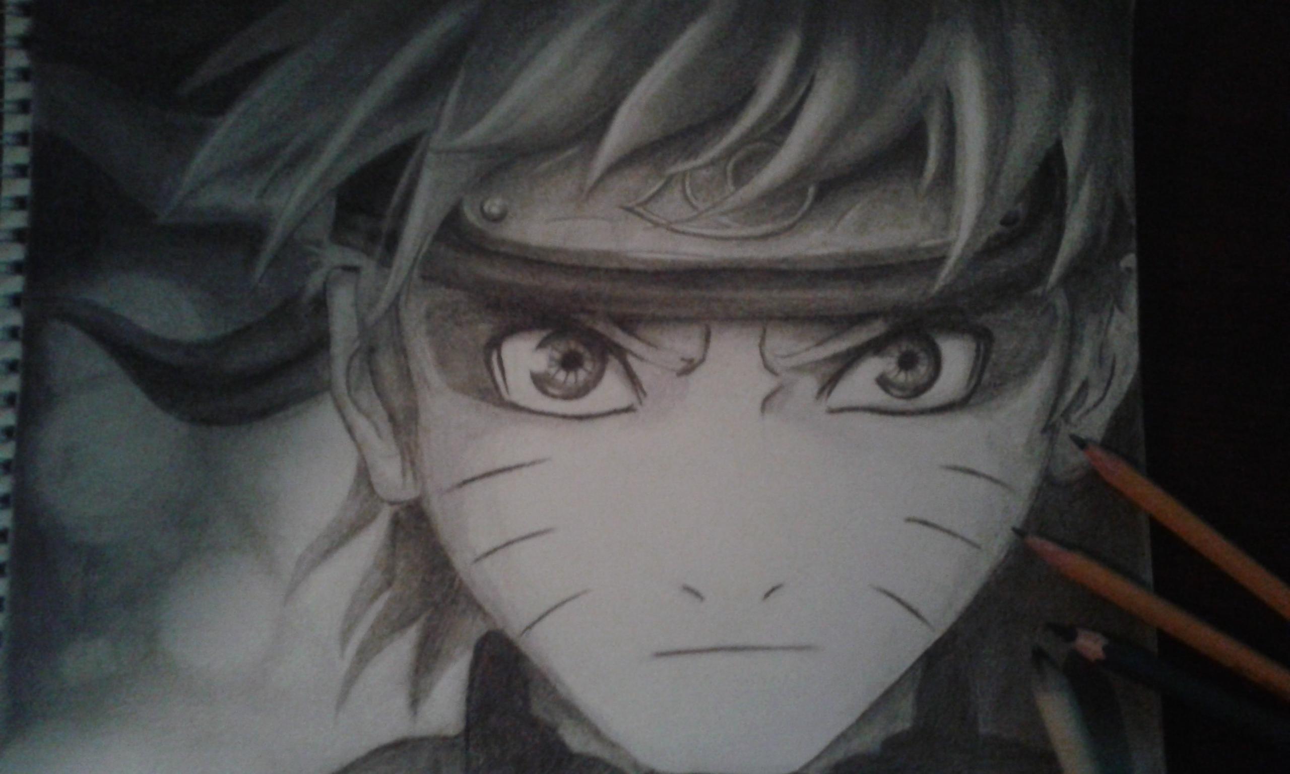 Drawn naruto hand drawn Drawn drawn Naruto Naruto on