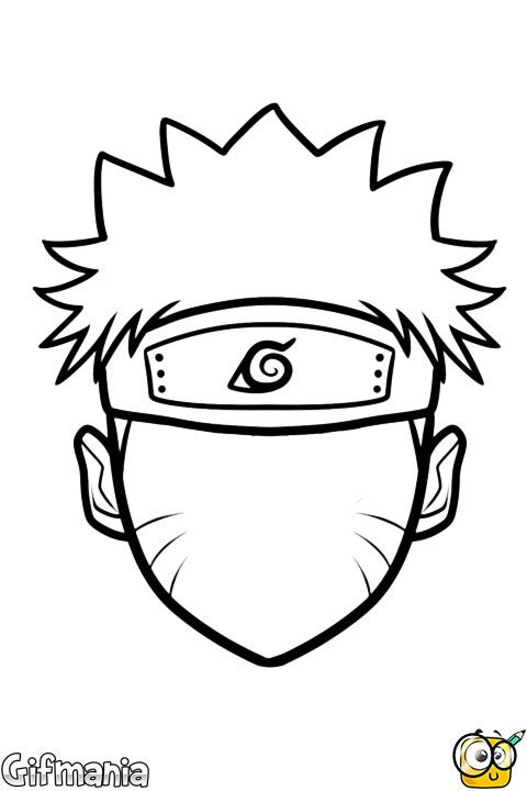 Drawn naruto head About images Pinterest on #naruto