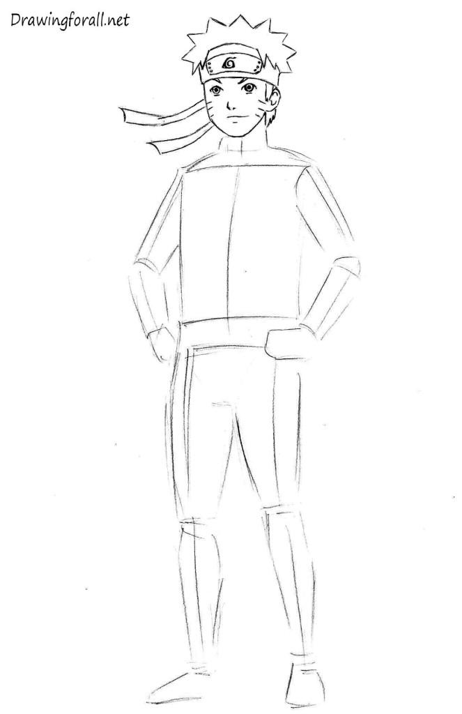 Drawn naruto head Net How naruto Draw how