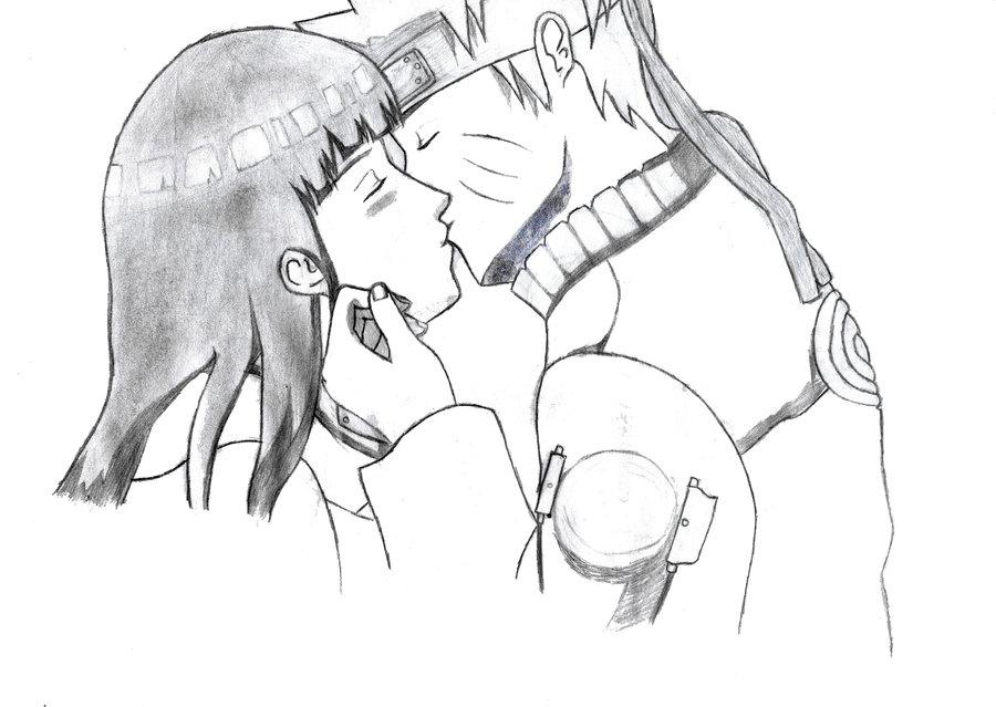 Drawn naruto hinata NARUTO KISSING DRAW EDWARD HINATA
