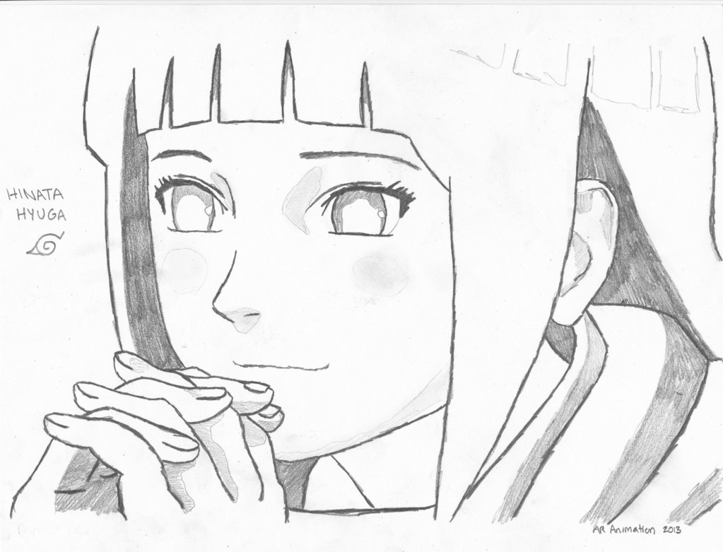 Drawn naruto hinata Naruto Hyuga Ascended Naruto Hinata
