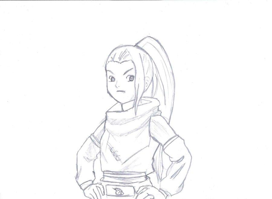 Drawn naruto ino Drawing DeviantArt Drawing by by
