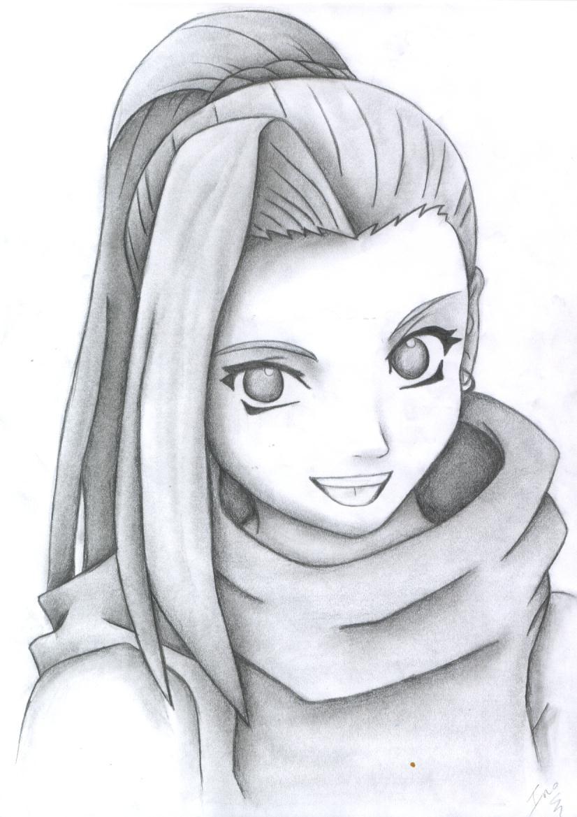Drawn naruto ino TigressDrawing DeviantArt on by TigressDrawing