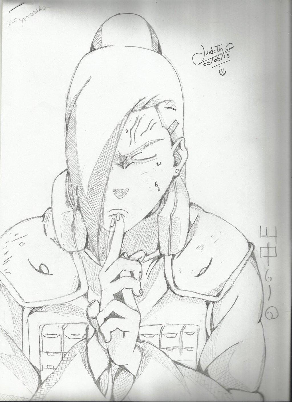 Drawn naruto ino Ino by Naruto Judith Cordova