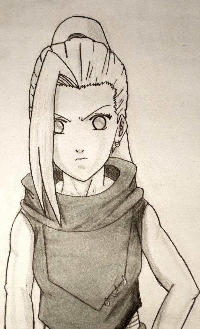 Drawn naruto ino Yamanaka DeviantArt Yamanaka by by