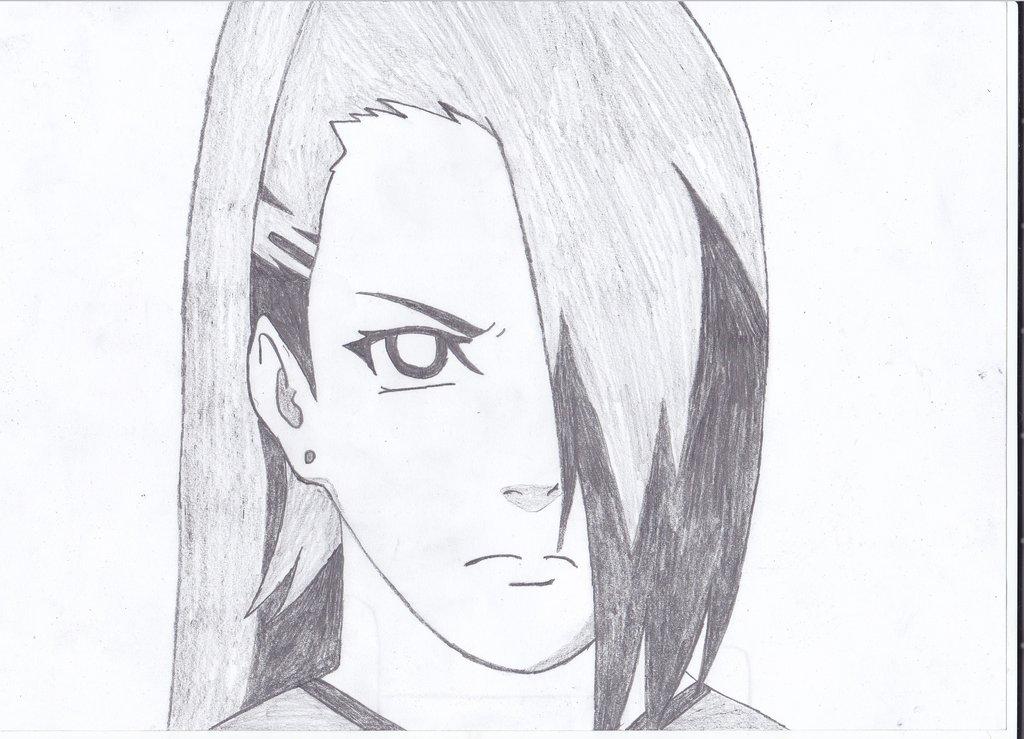 Drawn naruto ino NaruXhinata by me on drawing