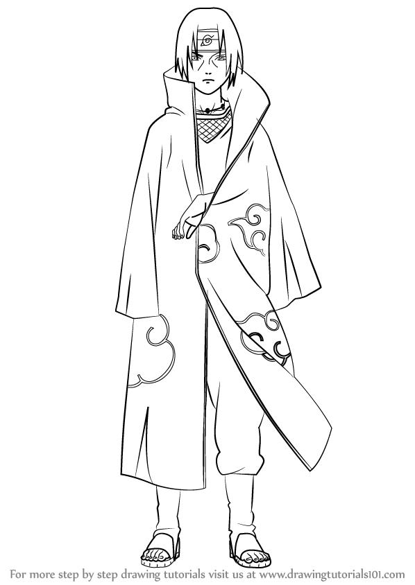 Drawn naruto itachi (Naruto) to Itachi from Naruto