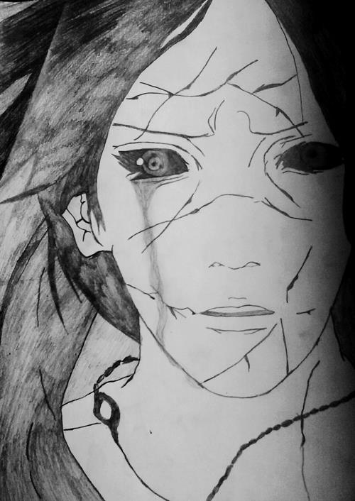 Drawn naruto itachi  Itachi by AS) AsDrawings