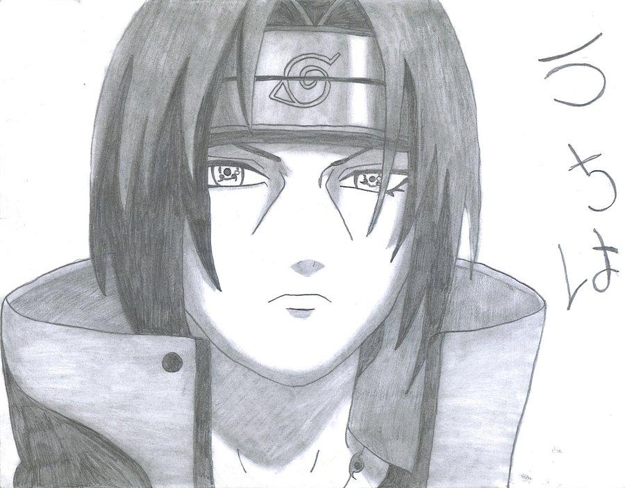 Drawn naruto itachi Birdy23445 by Naruto Itachi by