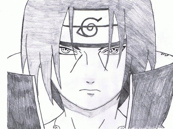Drawn naruto itachi Drawings Itachi Drawing by on