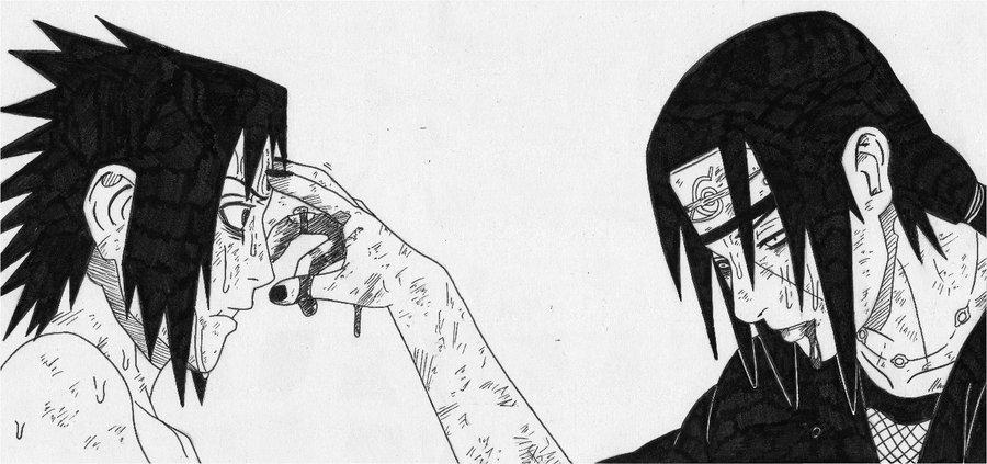 Drawn naruto itachi death By Itachi cheesyporridge2121 Itachi DeviantArt