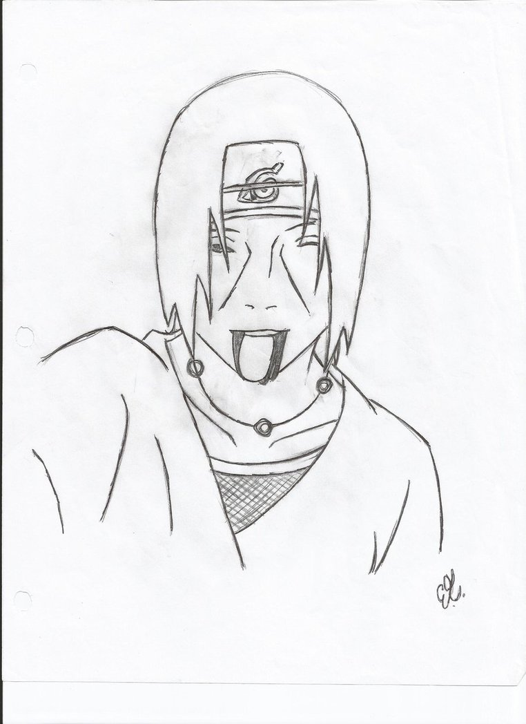 Drawn naruto itachi death By Itachi's phoenix2013 Itachi's DeviantArt