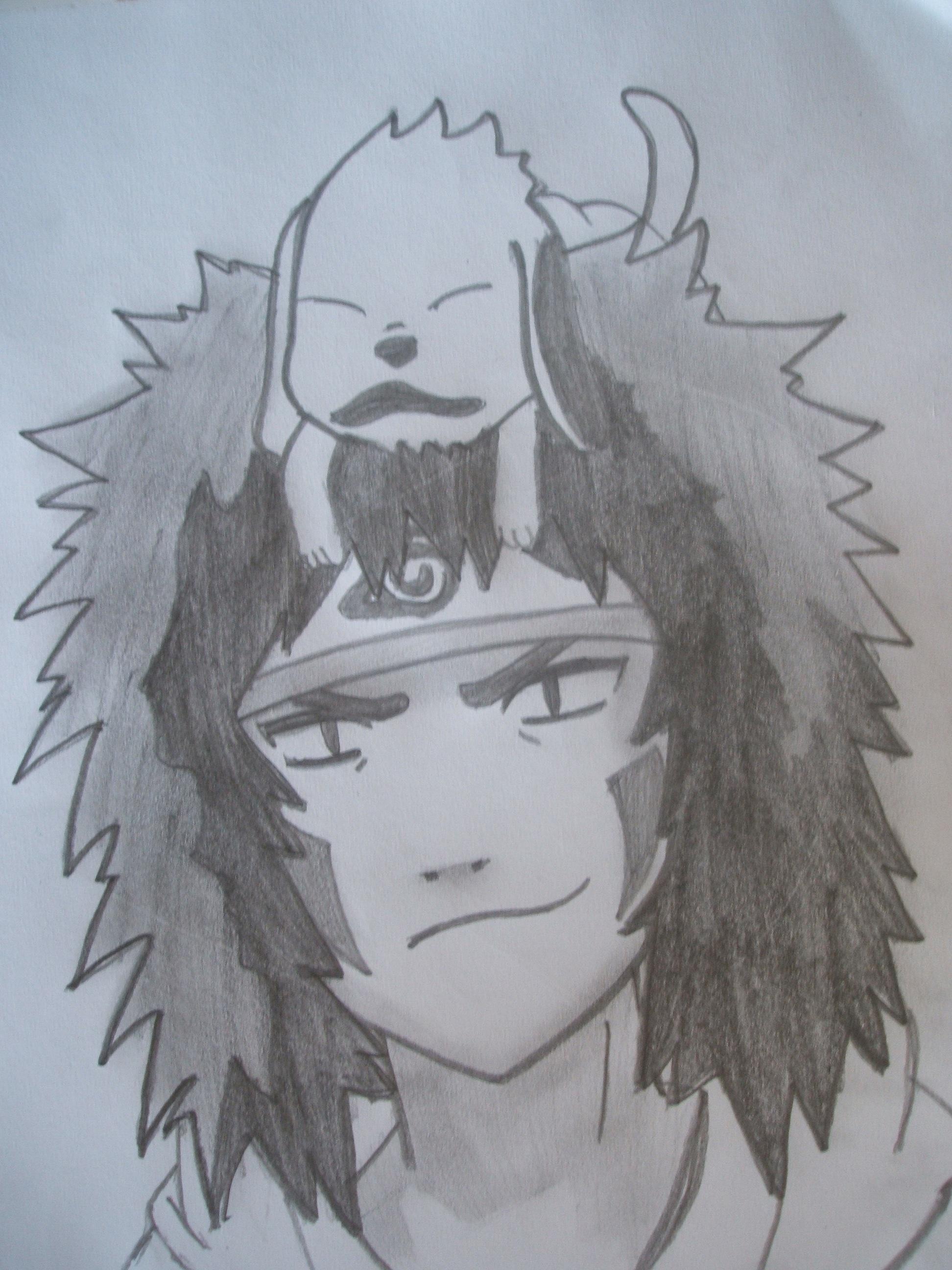 Drawn naruto kiba Drawing Drawing Episodes 2011 Kiba
