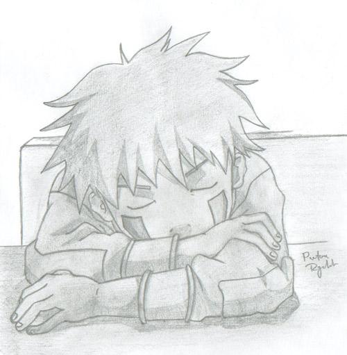 Drawn naruto kiba By by Kiba Drawing Inuzuka