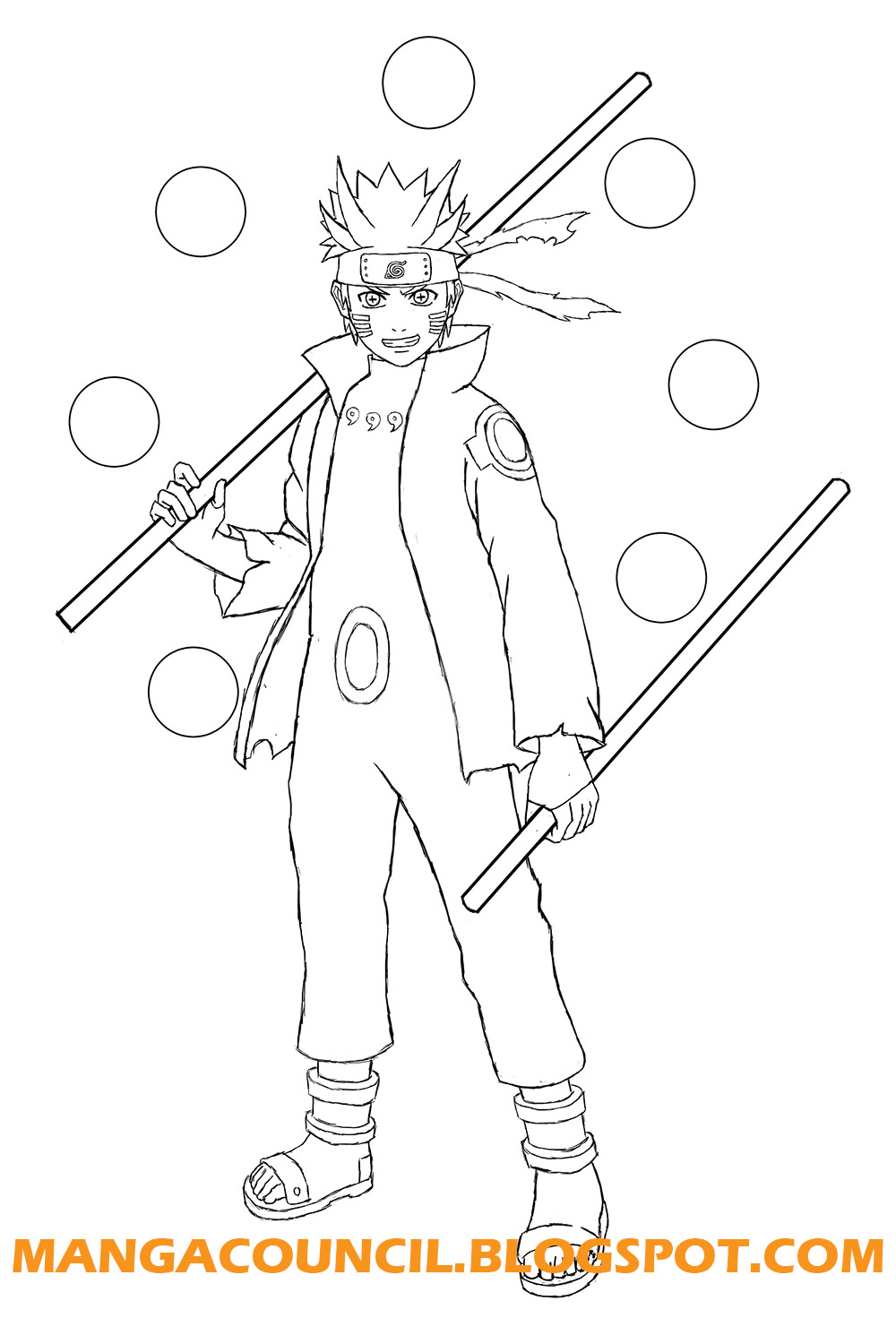 Drawn naruto line drawing Manga Line on Paths Art
