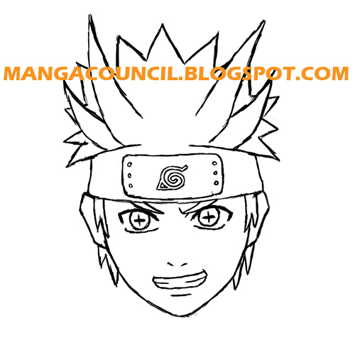 Drawn naruto line drawing Holding and overall two and