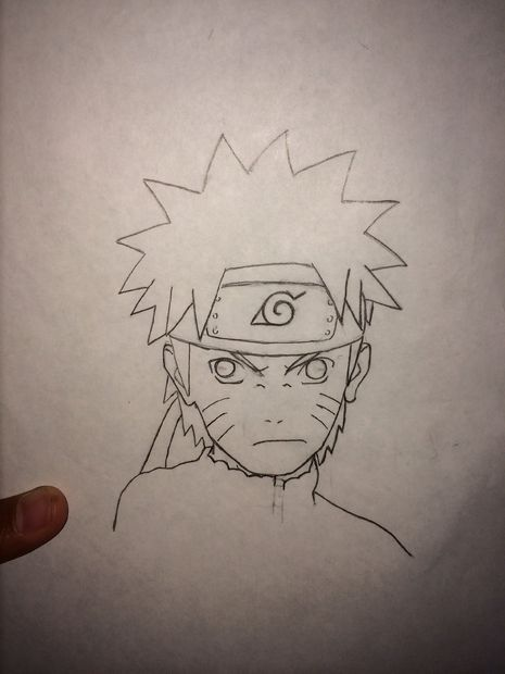 Drawn paper naruto Draw To: How Draw Steps
