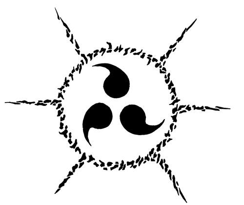 Drawn naruto logo On  deviantART Cursed Drawn
