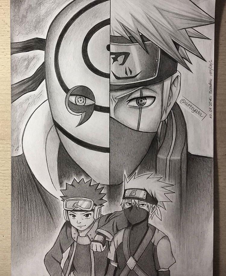 Drawn naruto love Ever Naruto  lost No
