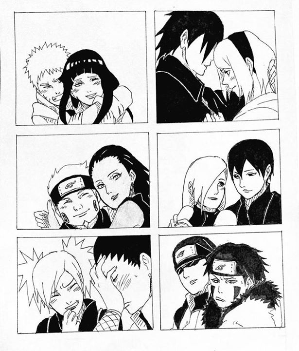 Drawn naruto love Shino I class Gosh awkward