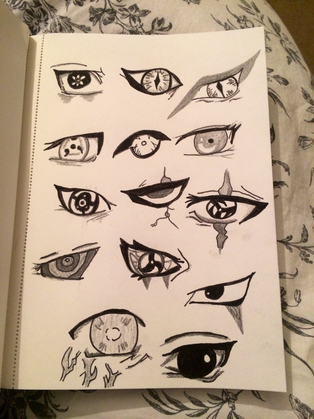 Drawn naruto naroto #eyes #eyes Anime from #drawn