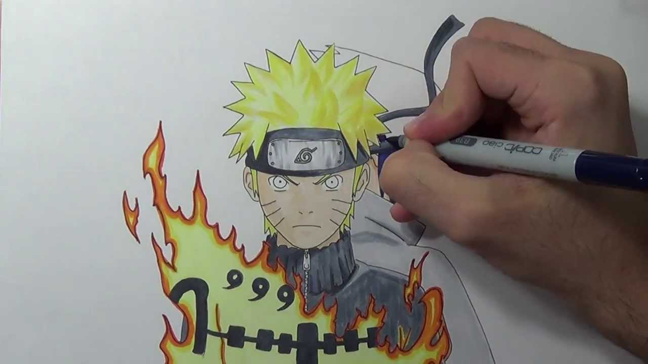 Drawn naruto naroto And YouTube Drawing  Naruto