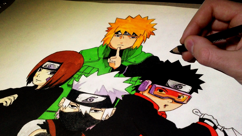 Drawn naruto naruto character And Naruto Characters and YouTube