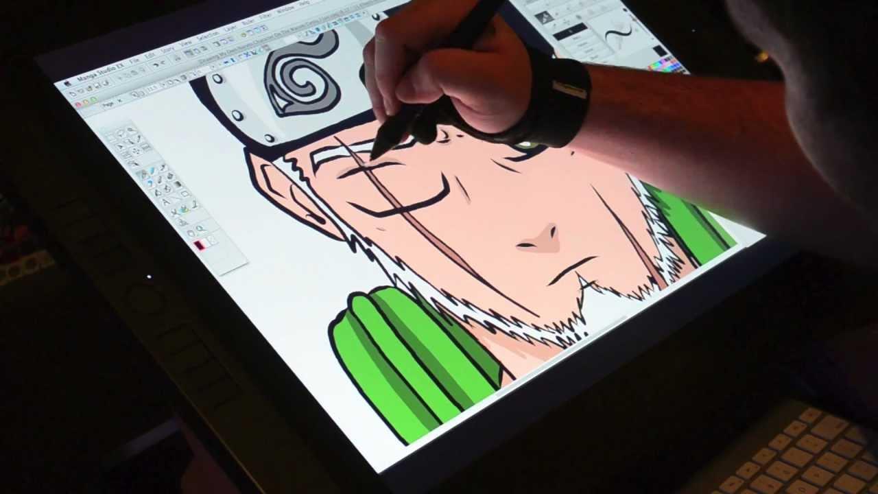 Drawn naruto naruto character My Drawing My Cintiq YouTube