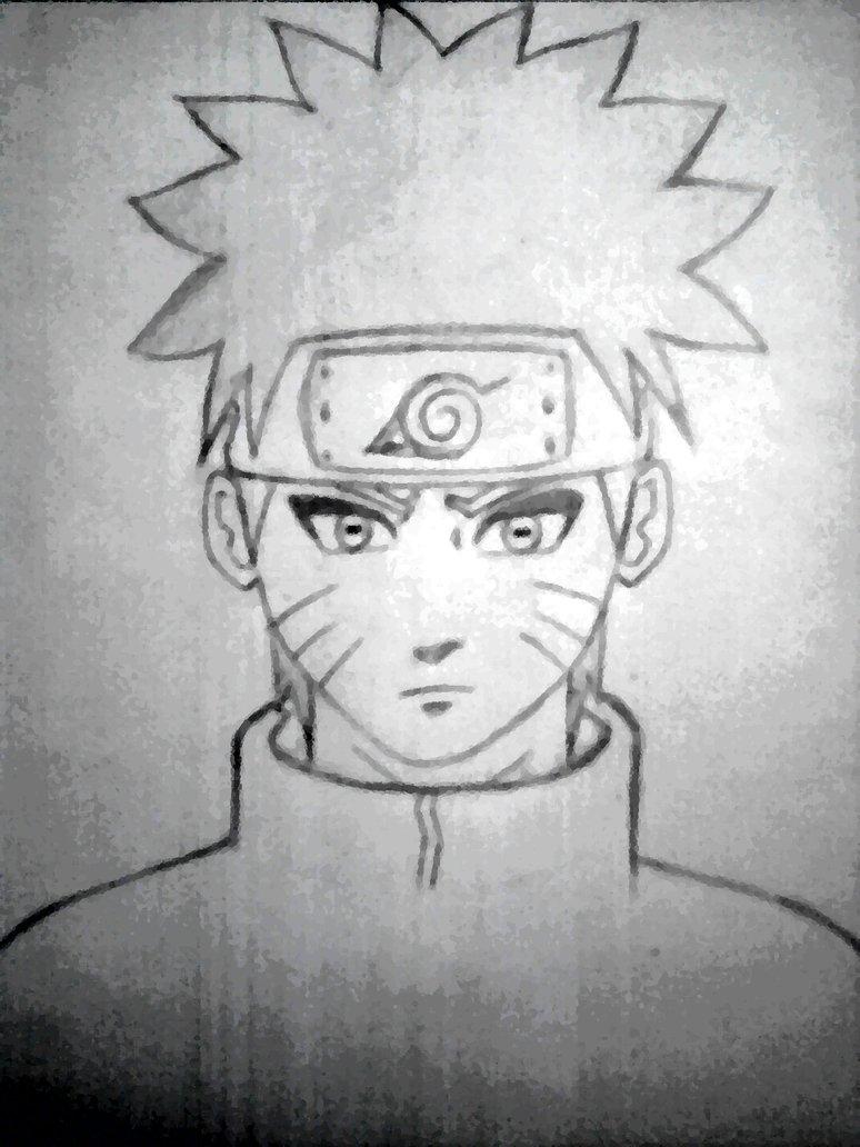 Drawn naruto naruto character Character by ArtnSketch Close on