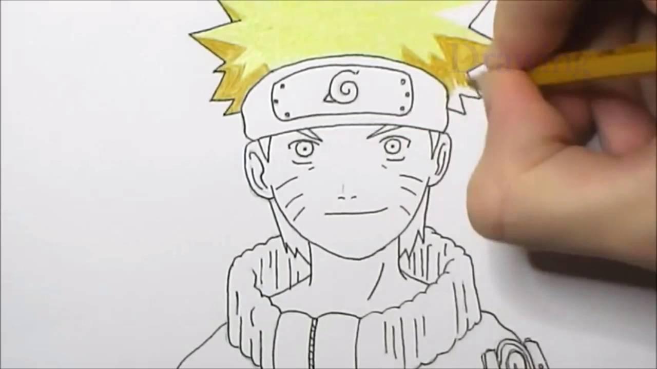 Drawn naruto naruto character To YouTube Naruto Naruto How