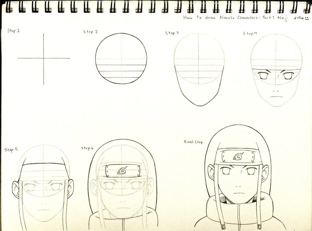 Drawn naruto naruto character To on ByakuSharingan1017 DeviantArt 1