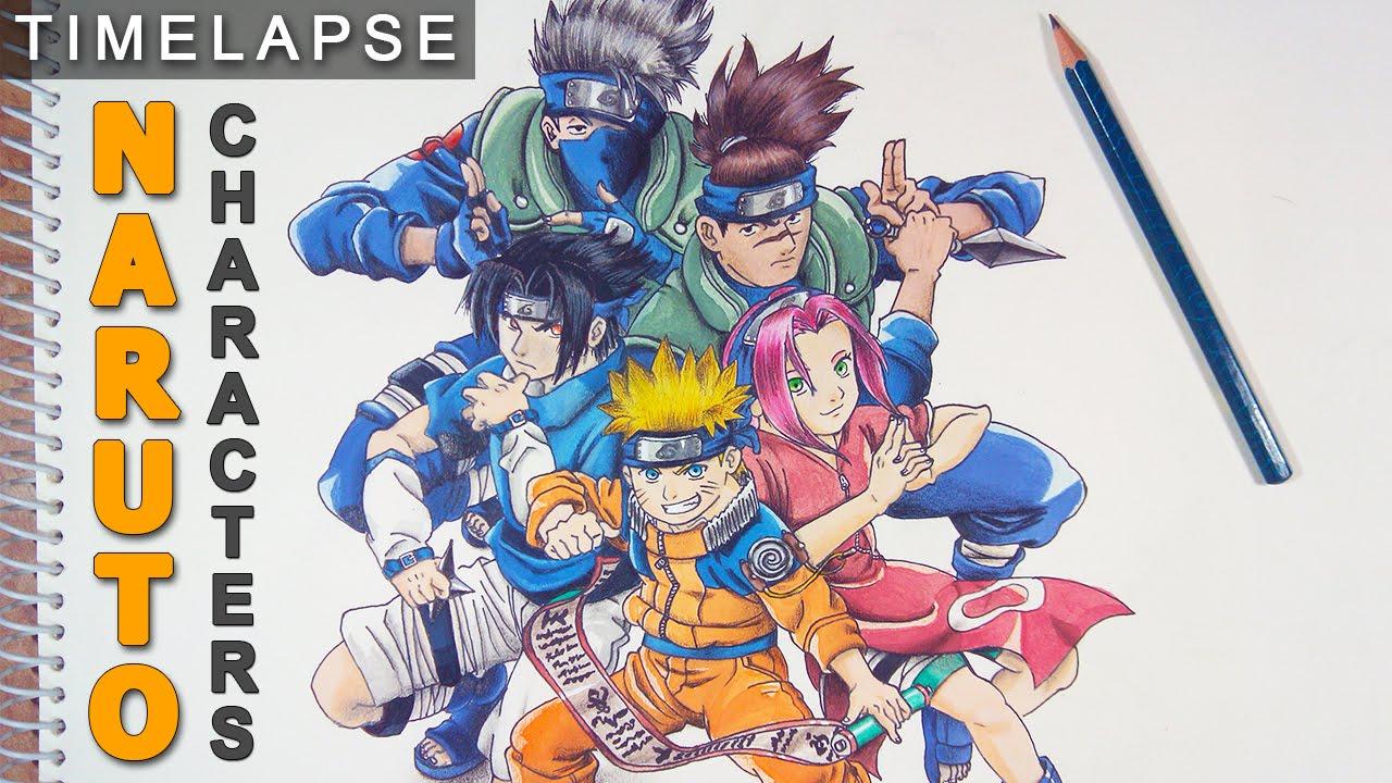 Drawn naruto naruto character Draw Characters  Naruto Drawing