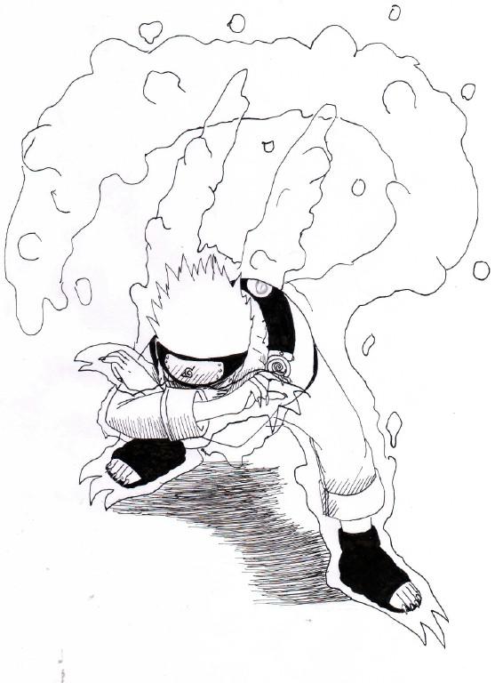 Drawn naruto naruto kyuubi By Krizeii Naruto Kyuubi by