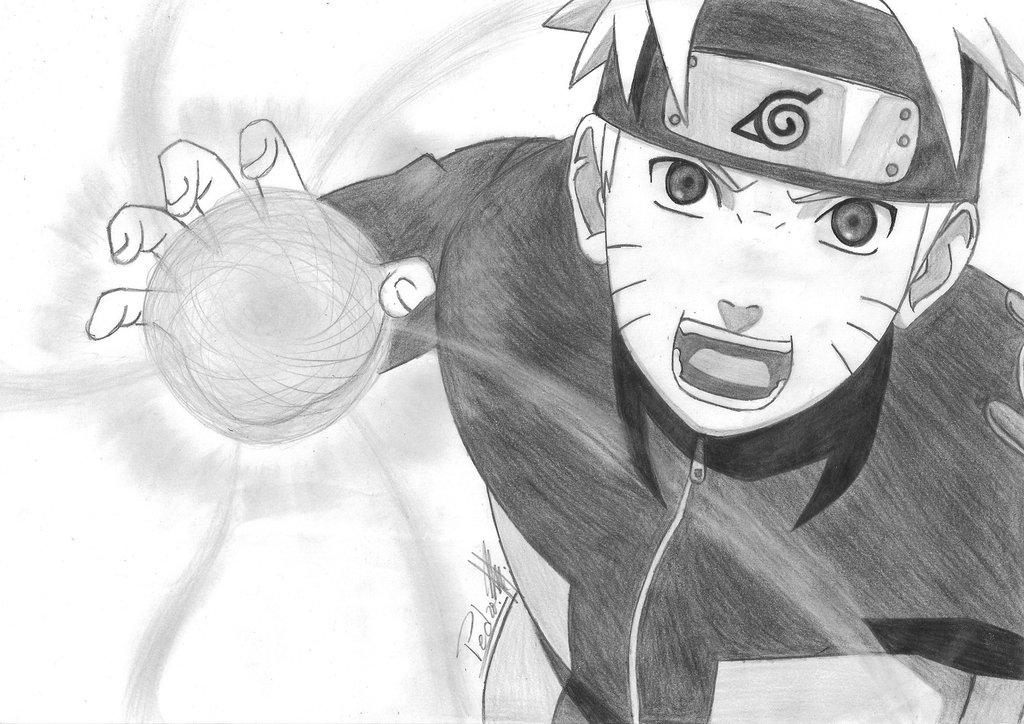 Drawn naruto naruto rasengan Naruto Shippuuden by Rasengan Shippuuden