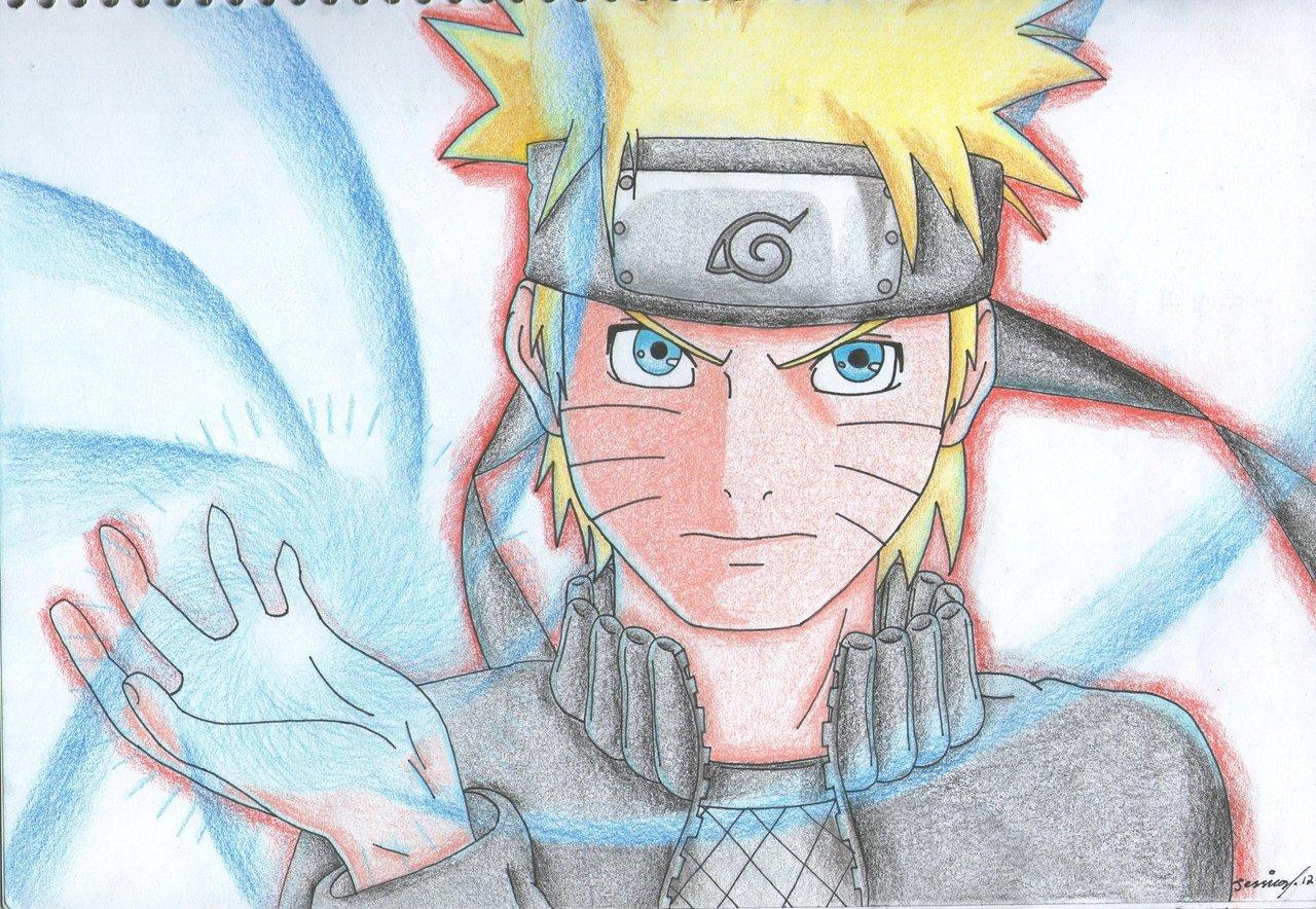 Drawn naruto naruto rasengan Naruto's by Cynder18 DeviantArt Cynder18