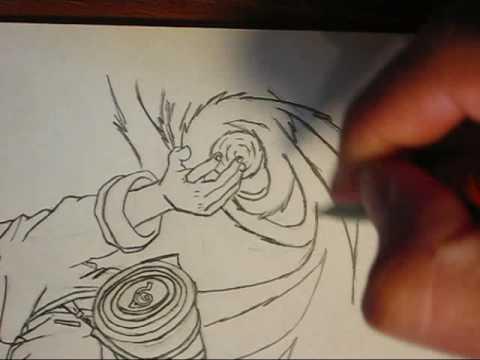 Drawn naruto naruto rasengan  a doing pro Drawing