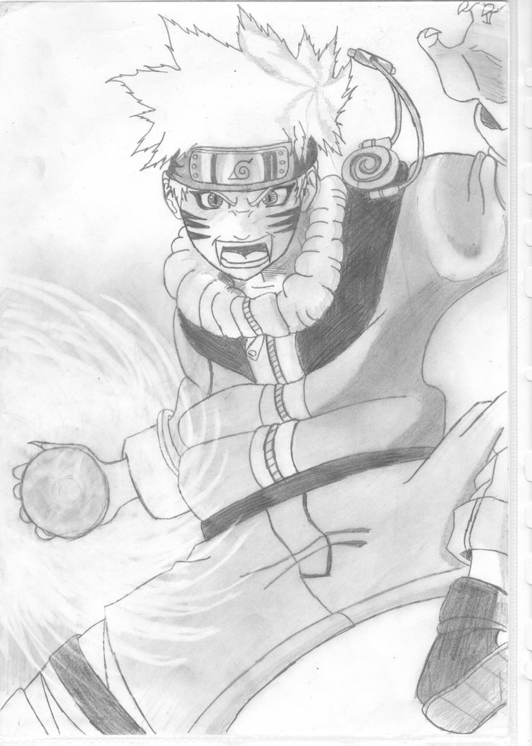 Drawn naruto naruto rasengan Naruto by Darknoward Darknoward Rasengan