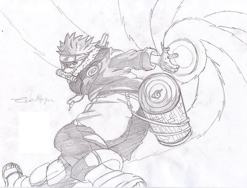 Drawn naruto naruto rasengan Naruto by kasaru kasaru Rasengan