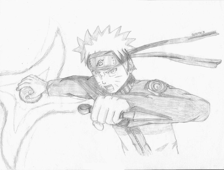 Drawn naruto naruto rasengan Naruto by Drawing Naruto Rasengan