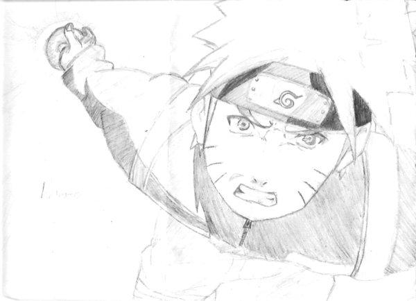 Drawn naruto naruto shippuden By Shippuden drawing oZiyo Naruto