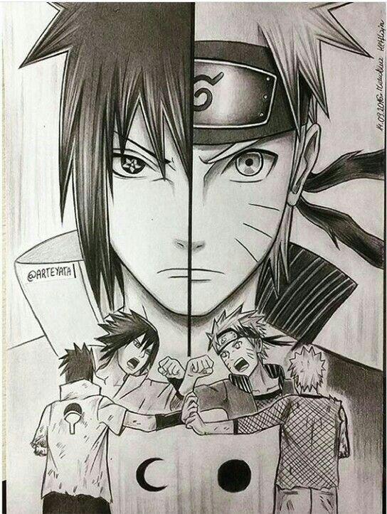 Drawn naruto naruto shippuden Ideas Naruto drawings on Amazing