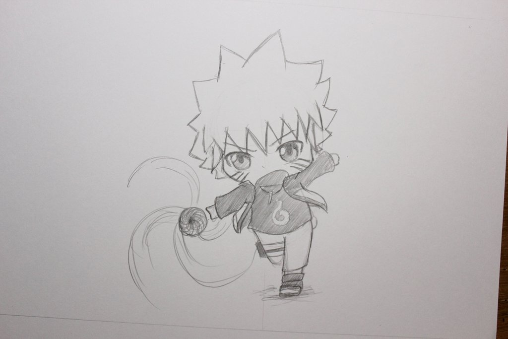 Drawn naruto naruto shippuden Chibi Chibi Drawing #4 Drawing