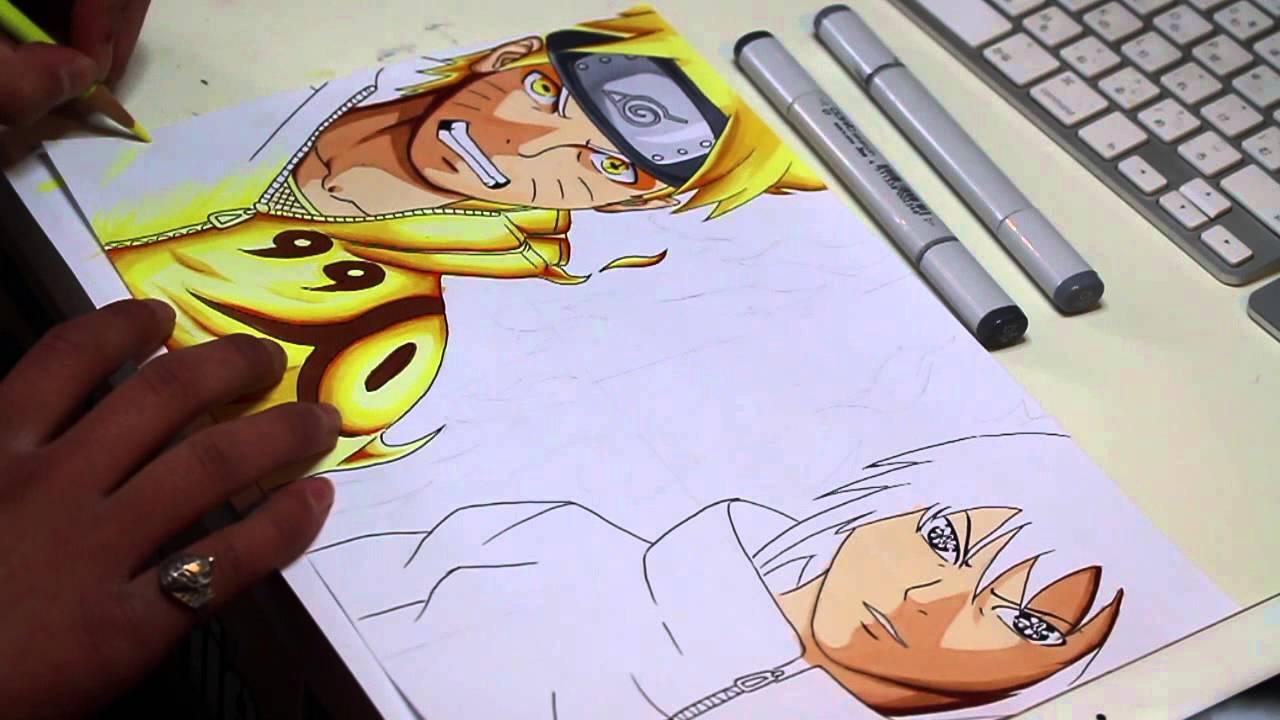 Drawn naruto naruto shippuden Naruto YouTube  and Naruto