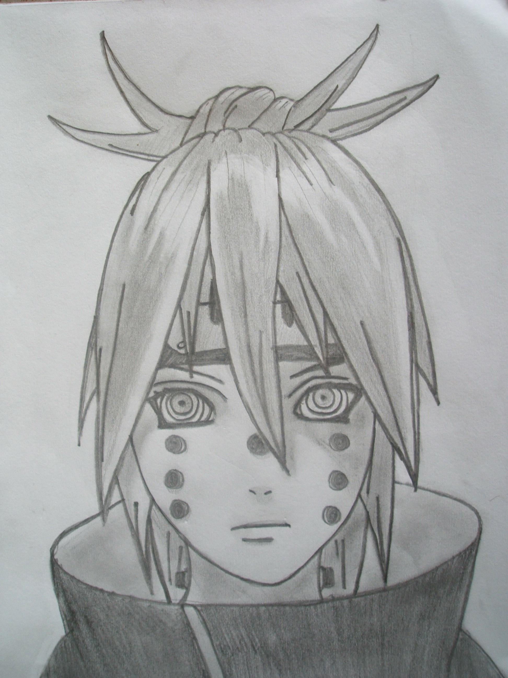 Drawn naruto naruto shippuden Drawing Shippuden Realm Phlex Naruto