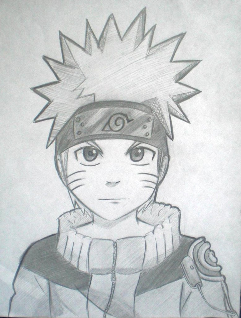 Drawn naruto naruto uzumaki On Naruto Uzumaki My 3