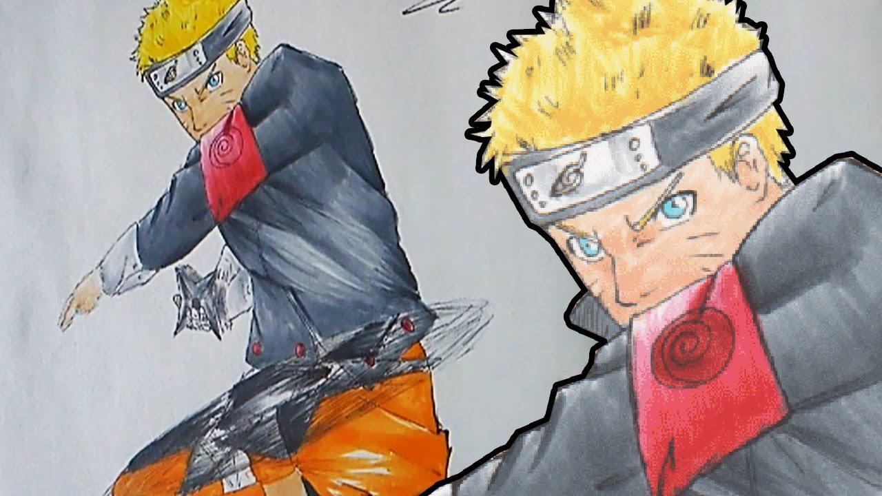 Drawn naruto naruto uzumaki Uzumaki Style) Draw Style) Movie