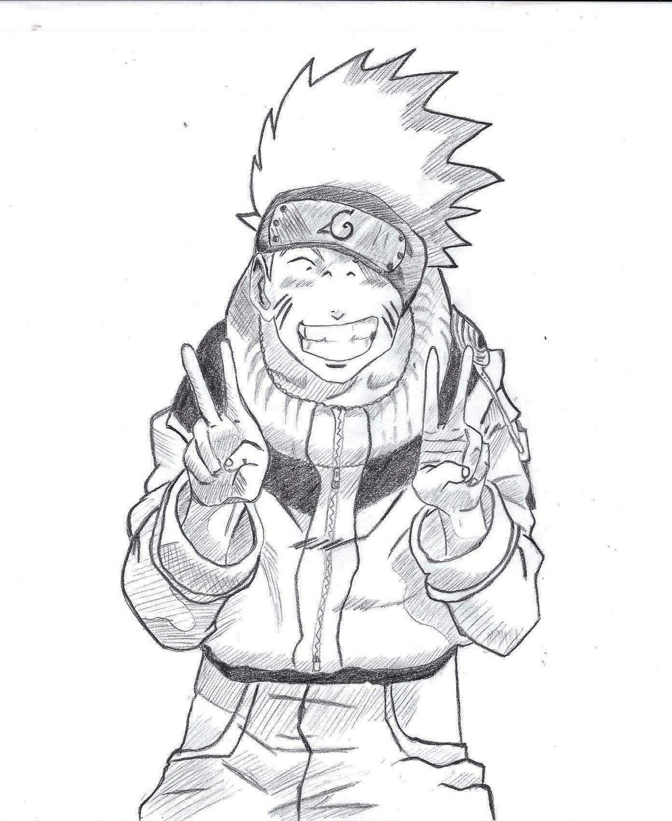 Drawn naruto naruto uzumaki Drawing Uzumaki Zahid Arts: Naruto