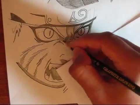 Drawn naruto nine tailed Nine Naruto Uzumaki YouTube
