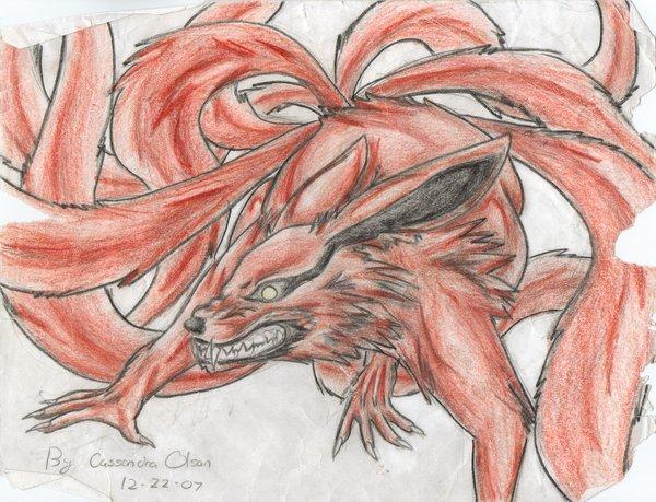 Drawn naruto nine tailed Explore nine 30 on old