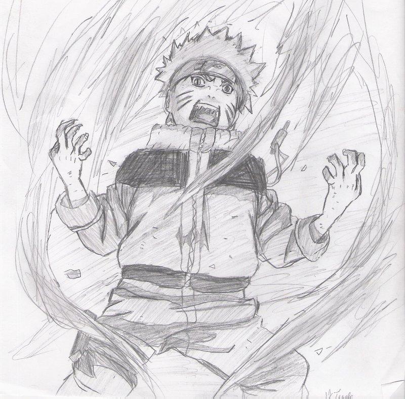 Drawn naruto nine tailed DeviantArt narudraw312 Naruto by by